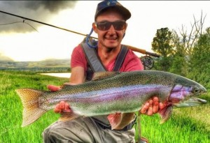 Wyoming fishing guide Forrest Lewton